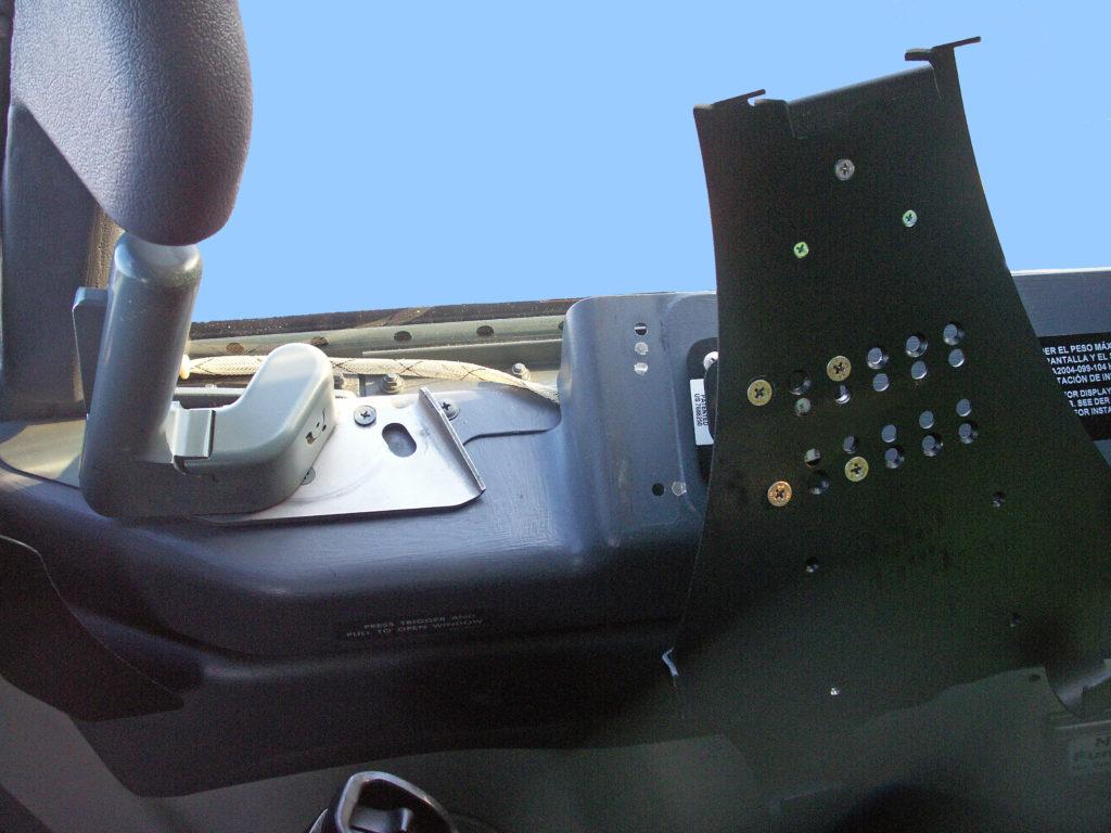 Boeing 737 iPad Griffin Cradle Installation